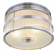 Urban Classic 1481F18PN Anjelica Polished Nickel Flush Ceiling Light Fixture