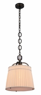 Urban Classic 1485D15BZ Cara Bronze 15  Drum Hanging Lamp