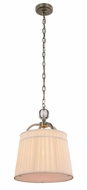 Urban Classic 1485D15VN Cara Vintage Nickel 15  Drum Hanging Light
