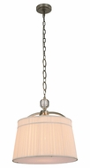 Urban Classic 1485D18VN Cara Vintage Nickel 18  Drum Hanging Pendant Lighting