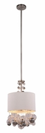 Urban Classic 1486D15VN Milan Contemporary Vintage Nickel 15  Drum Pendant Hanging Light