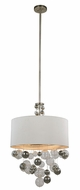 Urban Classic 1486D24VN Milan Contemporary Vintage Nickel 24  Drum Drop Lighting
