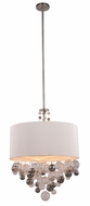 Urban Classic 1486D28VN Milan Contemporary Vintage Nickel 28  Drum Ceiling Light Pendant