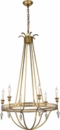 Urban Classic 1487D30BB Phoebe Burnished Brass Chandelier Light