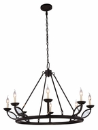 Urban Classic 1488G43VB Charleston Vintage Bronze Lighting Chandelier