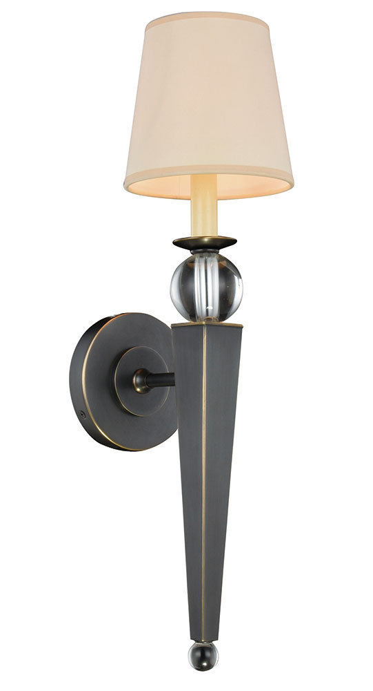 Wall Sconces Urban Barn : Urban Classic 1489W6BZ Olympia Bronze Wall Light Sconce - URB-1489W6BZ