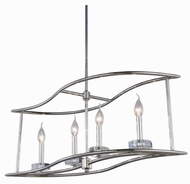 Urban Classic 1494D32PN Bjorn Polished Nickel 32  Island Light Fixture