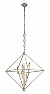 Urban Classic 1495D30SL Nora  Contemporary Vintage Silver Leaf 30  Entryway Light Fixture