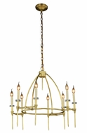 Urban Classic 1499D30BB Celtic  Burnished Brass Lighting Chandelier