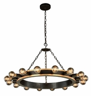 Urban Classic 1500D35VBGI Winston Contemporary Golden Iron & Vintage Bronze  35  Lighting Chandelier