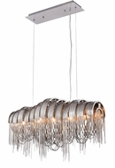 Urban Classic 1505D28C Blythe Modern Chrome Halogen Kitchen Island Light