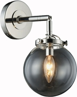 Urban Classic 1507W6PN Leda  Contemporary Polished Nickel Wall Lighting Fixture