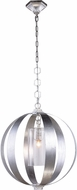 Urban Classic 1508D21SL Serenity Modern Vintage Silver Leaf 21  Pendant Lighting Fixture