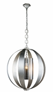 Urban Classic 1508D30SL Serenity Contemporary Vintage Silver Leaf 30  Pendant Hanging Light