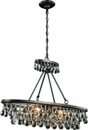 Urban Classic 1509D34BZ Bettina Bronze 34  Kitchen Island Light Fixture