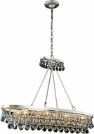 Urban Classic 1509G44SL Bettina Silver Leaf 44  Kitchen Island Light Fixture
