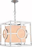 Urban Classic 1513D22PN Quatro Modern Polished Nickel 22  Hanging Light Fixture