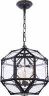 Urban Classic 1514D14RZ Gordon Contemporary Rustic Zinc 14  Ceiling Light Pendant