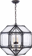 Urban Classic 1514D19RZ Gordon Contemporary Rustic Zinc 19  Pendant Lighting