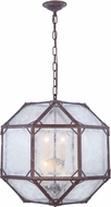 Urban Classic 1514D19SR Gordon Modern Saddle Rust 19  Pendant Light