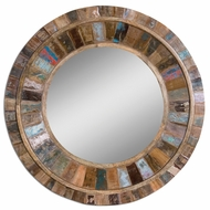 Uttermost 04017 Jeremiah 32  Tall Contemporary Solid Mango Wood Mirror