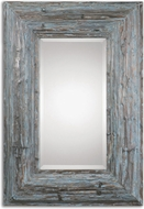 Uttermost 07688 Galend 31.5  Wide Distressed Wood Mirror