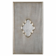 Uttermost 09036 Gardanne Lightly Antiqued Silver Leaf Mirror