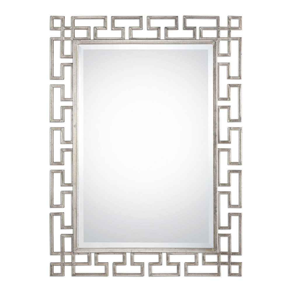 Uttermost 09089 agata contemporary lightly antiqued silver leaf uttermost 09089 agata contemporary lightly antiqued silver leaf wall mounted mirror loading zoom amipublicfo Gallery