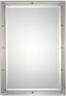 Uttermost 09106 Manning Brushed Nickel Wall Mounted Mirror