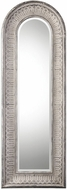 Uttermost 09118 Argenton Aged Gray Arch Wall Mounted Mirror