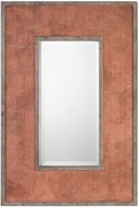 Uttermost 09120 Lassen Rust Red Wall Mirror