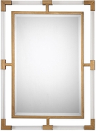 Uttermost 09124 Balkan Modern Gold Wall Wall Mounted Mirror