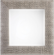 Uttermost 09135 Cressida Distressed Silver Square Wall Mounted Mirror