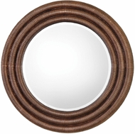Uttermost 09143 Helical Round Copper Mirror