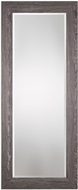 Uttermost 09167 Beresford Oversized Charcoal Wood Wall Mounted Mirror