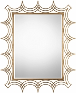 Uttermost 09176 Kiowa Gold Wall Mirror