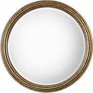 Uttermost 09183 Spera Round Gold Mirror