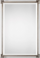 Uttermost 09199 Mackai Metallic Silver Wall Mirror