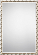 Uttermost 09230 Laden Lightly Antiqued Gold Leaf Wall Mirror