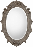 Uttermost 09239 Serafina Oval Panel Mirror