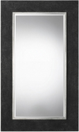 Uttermost 09249 Ferran Textured Black Wall Mounted Mirror