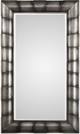 Uttermost 09251 Germano Heavily Burnished Silver Leaf Mirror
