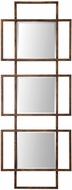 Uttermost 09253 Tribus Rust Bronze Wall Mounted Mirror