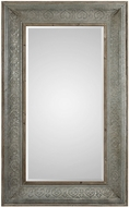 Uttermost 09255 Bianca Aged Gray Wall Mirror