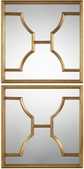 Uttermost 09268 Misa Gold Wall Mirrors (pack of 2)