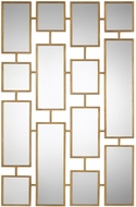 Uttermost 09271 Kennon Forged Gold Mirror
