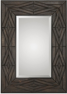 Uttermost 09281 Bolsena Solid Wood Mirror