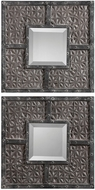 Uttermost 09289 Gaiana Bronze Mirrors (pack of 2)