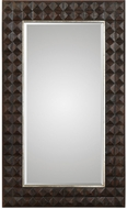 Uttermost 09298 Aperia Walnut Oversized Wall Mirror