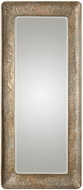 Uttermost 09307 Silas Hammered Gold Wall Mounted Mirror